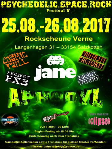 Rockscheune Verne Homepage