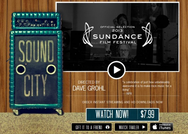 Sound City Movie Page