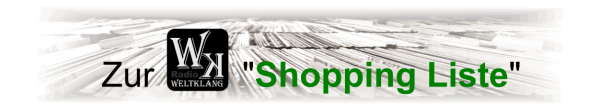 Zur Weltklang Shopping Liste