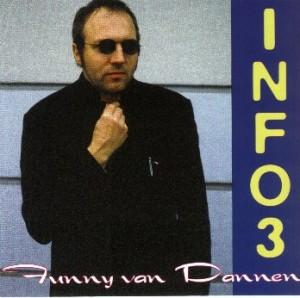 """Funny van Dannen - """"Info 3"""" cover"""