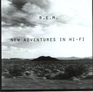 "R.E.M. - ""New Adventure In Hi-Fi"" cover"