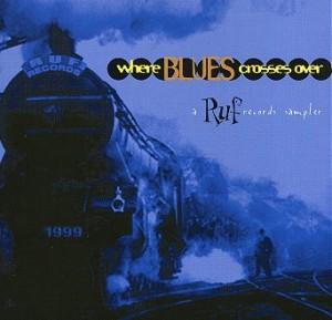 "V.A. - ""Where Blues Crosses Over"" cover"