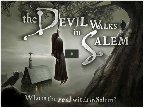 The Devil Walks in Salem on Kickstarter
