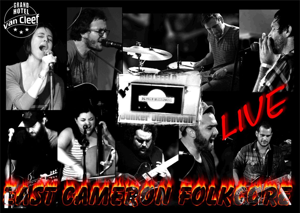 "East Cameron Folkcore - ""LIVE im BUNKER ULMENWALL"""