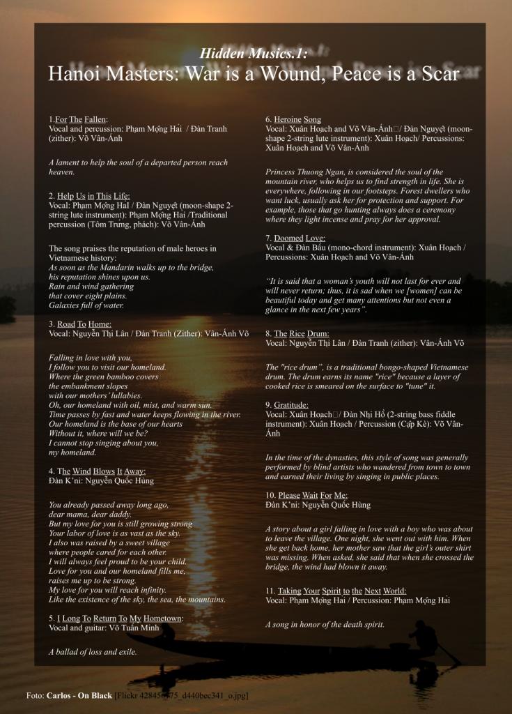 Hanoi Masters - Track Infos