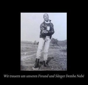 Trauerbild auf SEEED-DE Homepage